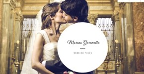 Responsive Wedding Wordpress Theme - Moreno