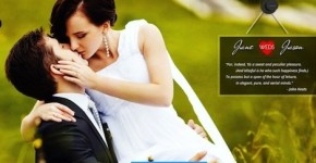 Responsive Wedding Wordpress Theme - Analytical