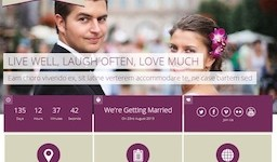 Responsive Wedding Wordpress Theme - Soul